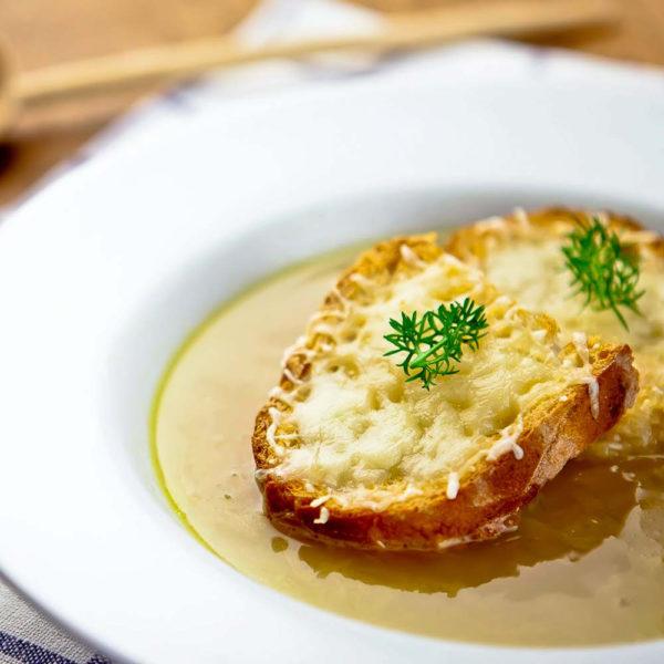 Sopa de cebolla - Eth Cerer der Urtau